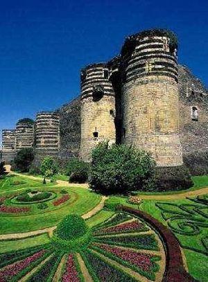 france pays de la loire angers fortress castle 49 maine